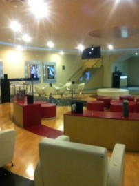VIP waiting area/bar