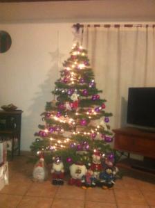 My tree in all it's glory!
